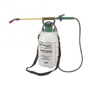 5L Pump Action Pressure Sprayer - use with water, fertilizer or pesticides