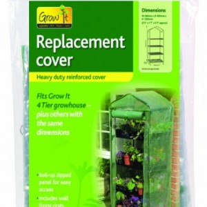 Gardman 4 Tier Growhouse Reinforced Replacement Cover