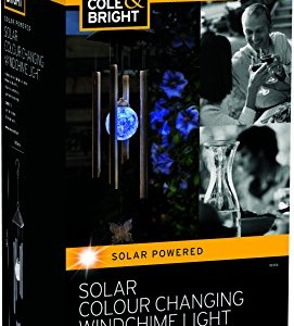 Gardman Solar Wind Chime Garden Light